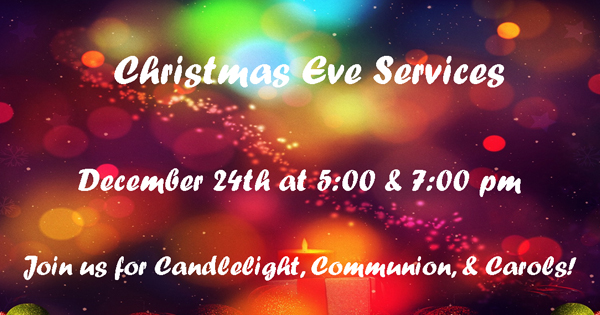Christmas Eve Services 2016