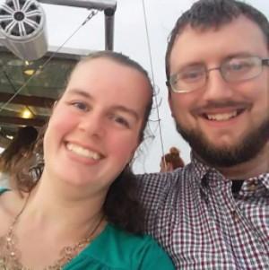 Pastor Nathan Presley and wife