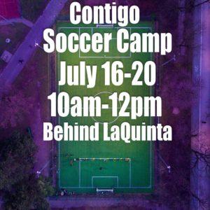 Contigo Soccer Camp July 2018