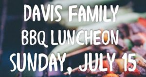Davis Family BBQ Luncheon