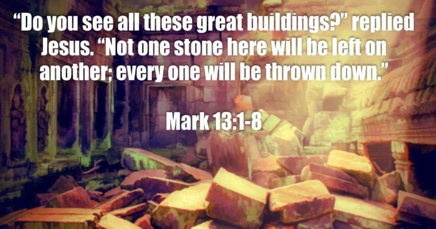 Mark 13:1-8