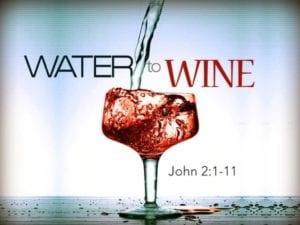 Worship Jan 20, 2019, John 2:1-11