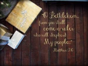 worship Matthew 2:6