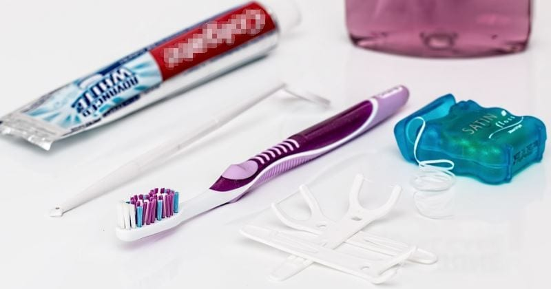 dental hygiene kit