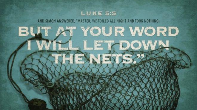 Luke 5:5