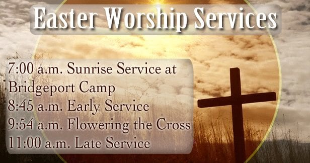 Easter Worship Services 2019