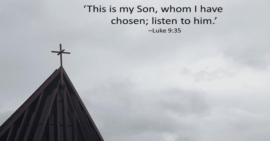 Luke 9:35