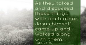 Luke 25:15