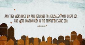 Luke 24:52-53