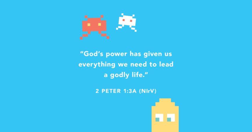 2 Peter 1:3a