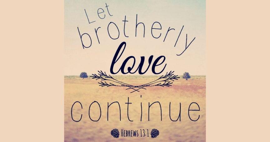 Hebrews 13:1