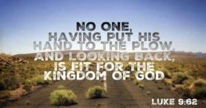 Luke 9:62