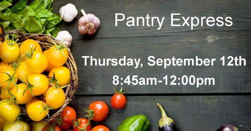 Pantry Express September 12, 2019