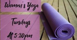 Women's Yoga Tuesdays