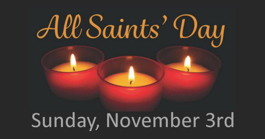 2019 All Saints Day Sunday Worship