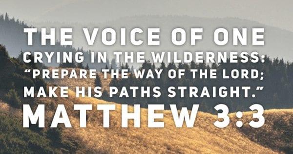 Matthew 3:3