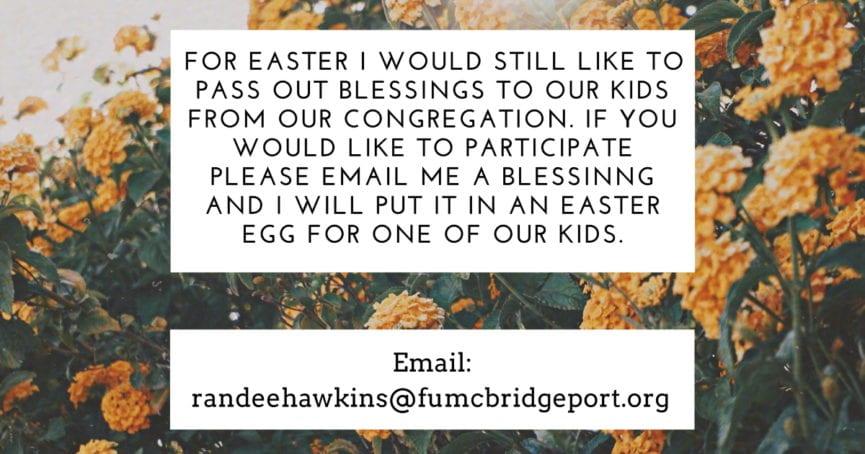 2020 Easter Blessings