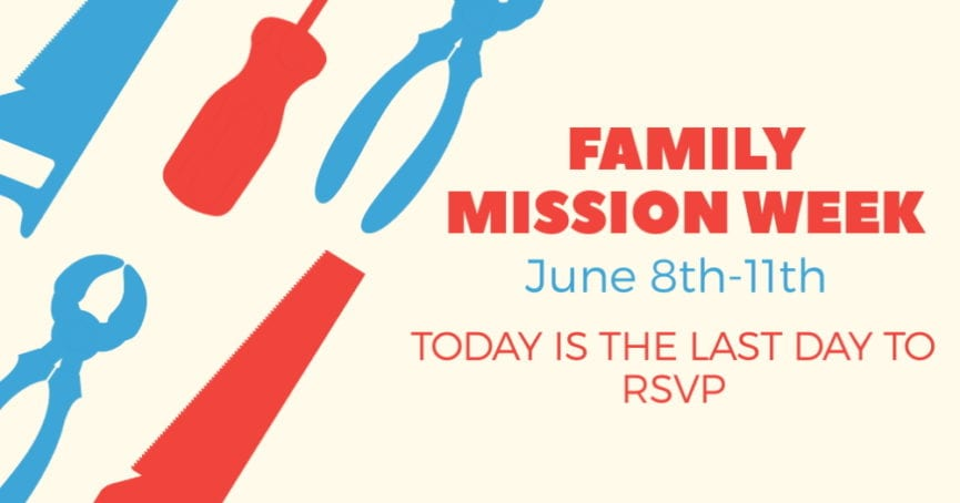 Family Mission Week
