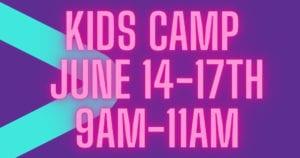 Kidz Camp 2021 Early Registration