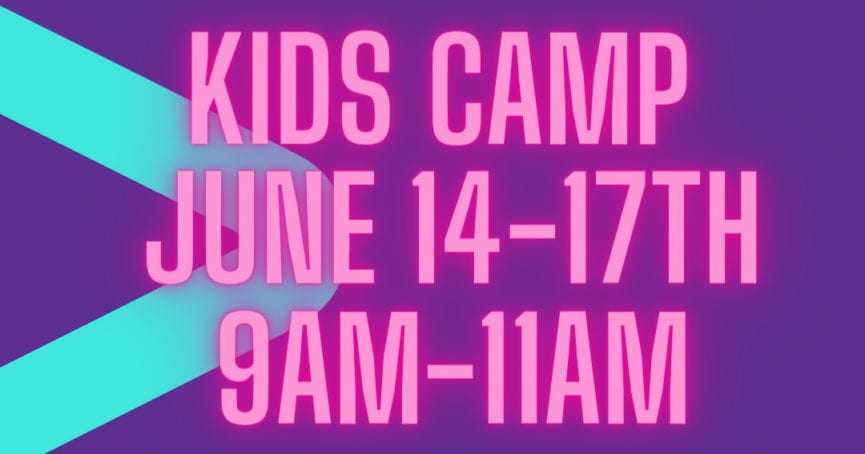 Kidz Camp 2021 Early Registration